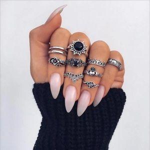 Jewelry - Tocona Midi Rings Set